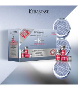 KERASTASE INTERV. ANTICADUTA A L'AMINEXIL CAP. FINI (CONTIENE 30 FIALE + BAIN STIMULISTE 250 ML)